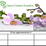 Copertina-biglietti per appuntamento-Sara centro estetico